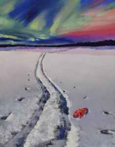 Ineke's Mitten Painting
