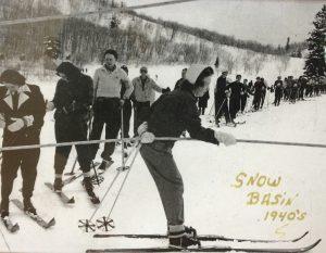 Skiing transport